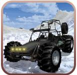 雪山越野赛车